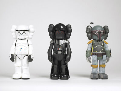 KAWS, 'Star Wars Companions (set of three)', 2007