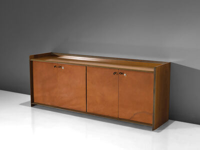 Afra & Tobia Scarpa, ''Artona' Leather Sideboard', 1975