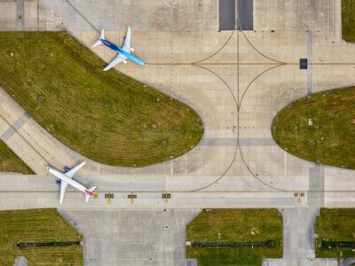 Jeffrey Milstein, 'Gatwick 2 Planes', 2016
