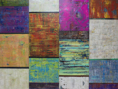 Hilario Gutierrez, 'Broken Rhythm (Quadtych)'