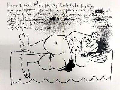 Pablo Picasso, 'Hommage à Georges Braque', 1964