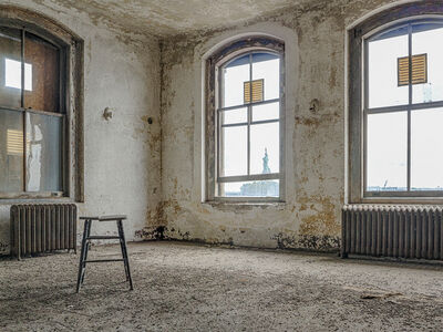 Lee Backer, 'Isolation Ward, Ellis Island Hospital', 2017