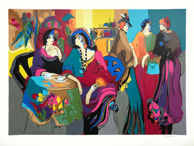 Isaac Maimon, 'CAFE DE LION', 1992