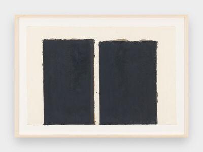 Yun Hyong-keun, 'Burnt Umber & Ultramarine', 1995