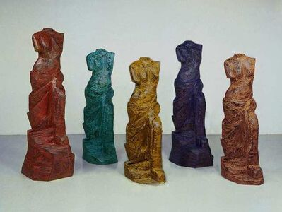 Jim Dine, 'Venus in Five Colors', 2007