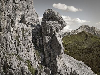 Luca Campigotto, 'Austro-Hungarian Emplacement towards Mt. Col di Lana and Mt. Civetta', 2013