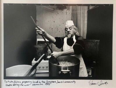 Edward Serotta, 'Photo Tzitzko Abinun Jewish Cooking Budapest Vintage Silver Gelatin Photograph ', 1990-1999