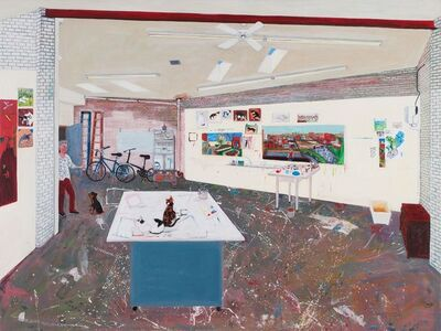 Sarah McEneaney, 'Studio 2016', 2016