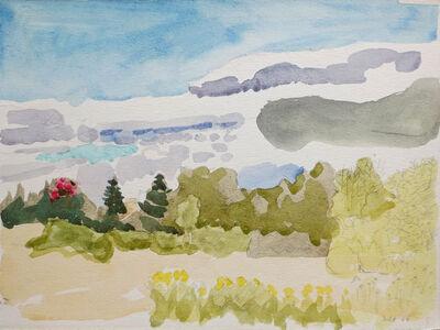Lois Dodd, 'Lincolnville Field', 1964