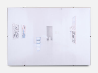Gili Tal, 'Spaces for Reflection (The Whole World at Your Fingertips, Shiny Floor)', 2019