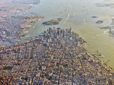 Jeffrey Milstein, 'NYC Downtown and Brooklyn Horizon', 2017