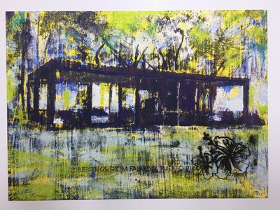 Enoc Perez, 'Glass House, II (Yellow)', 2015