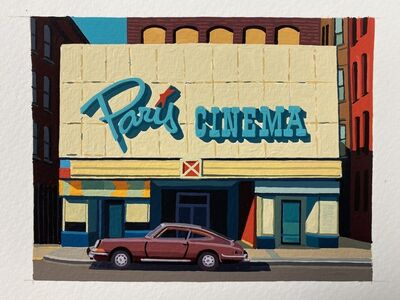 Andy Burgess, 'Paris Cinema, Worcester, Mass', 2020