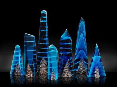 Alex Gabriel Bernstein, 'Azul Mountain Crystals', 2019
