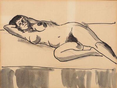Josef Herman RA, 'Nude'