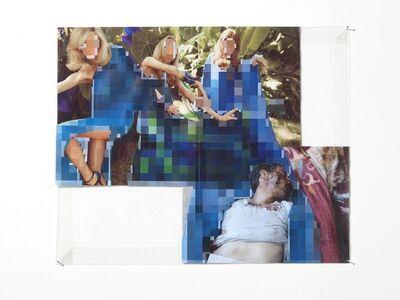 Thomas Hirschhorn, 'Pixel-collage n.64', 2016