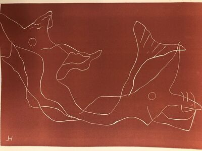 Henri Laurens, 'Two Mermaids', 1959