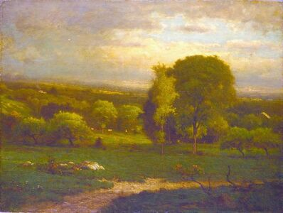 George Inness, 'Saco Valley', date unknown