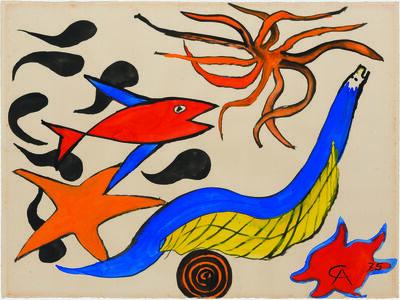 Alexander Calder, 'Star', 1975