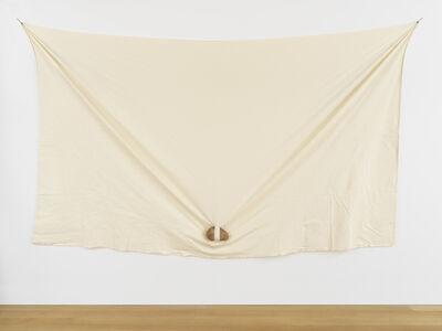 Keiji Uematsu, 'Triangle - Stone/Cloth', 1979