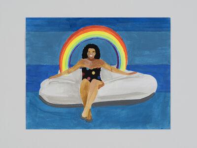 Derrick Adams, 'Petite Floater 23', 2020