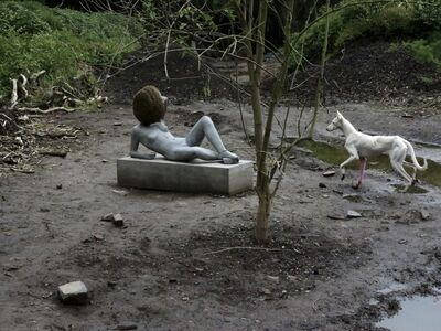 Pierre Huyghe, 'Untilled (Exhibition view, Kassel, 2012)', 2011-2012