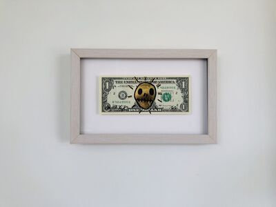 Hayden Kays, 'On The Money - Gold Leaf & Black - Open edition of  6 - Bespoke frame with museum glass', 2020