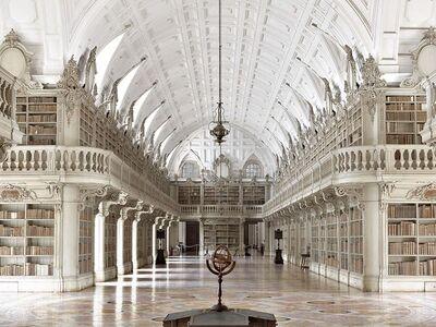Massimo Listri, 'Biblioteca de Mafra I, Portugal | World Libraries', 2018