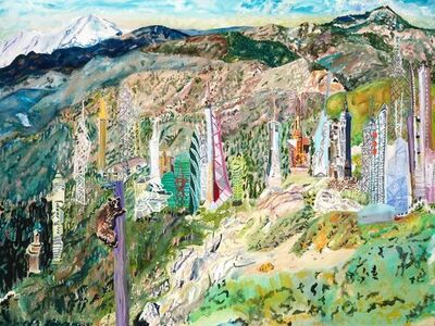 Olive Ayhens, 'Bejeweling the Massif', 2009