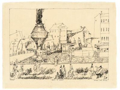 Lyonel Feininger, 'Ready to depart', 1911