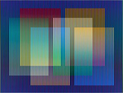 Carlos Cruz-Diez, 'Color Aditivo Panam 6', 2010