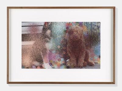 Hilary Lloyd, 'Dogs III', 2017