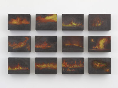 Teresita Fernández, 'Small American Fires 3', 2016