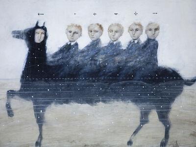Alexey Terenin, 'Riders In The Information Flow', 2018
