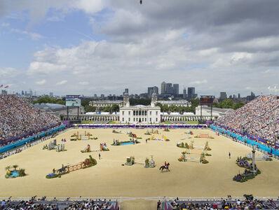 Simon Roberts, 'Equestrian Jumping Individual, Greenwich Park, London, 8 August', 2012