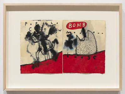 David Lynch, 'Pop The Cow Bomb Modern House', 2014
