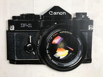 Kurt Pio, 'Canon F-1', 2020