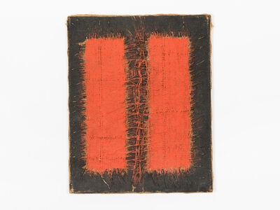 "Hanna Eshel, '""Dialectique III"" (17) -- Rouge et Noir', 1969"