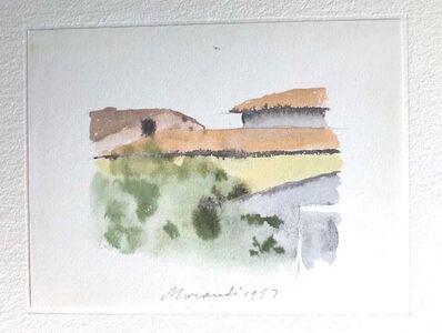 Giorgio Morandi, 'Roofs in Bologna', 1973
