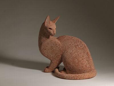 Mokichi Otsuka, 'Pair of Cats', 2018