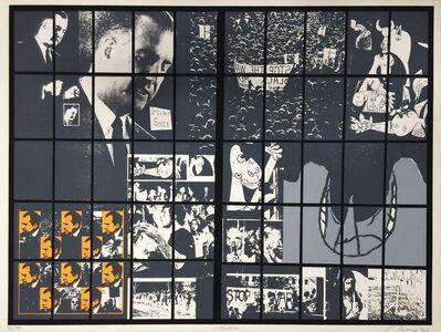 Carlos Irizarry, 'Moratorium II (Nixon)', 1969