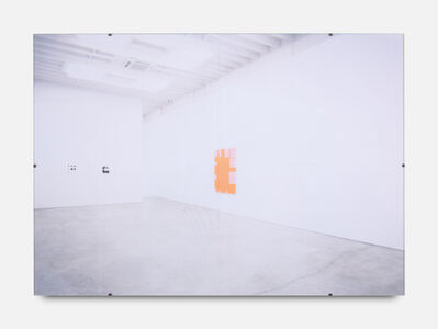Gili Tal, 'Spaces for Reflection (The Whole World at Your Fingertips, Orange)', 2019