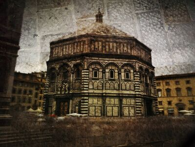 Abelardo Morell, 'Tent-Camera Image on Ground: The Florence Baptistry', 2010