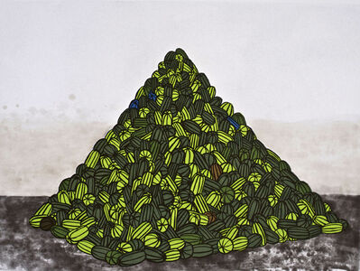 David Huffman, 'WATERMELON PYRAMID', 2007