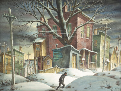 Henry Martin Gasser, 'Flat to Let ', Date Unknown