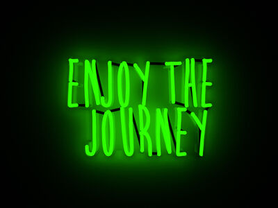 Mary Jo McGonagle, 'Enjoy the journey', 2018