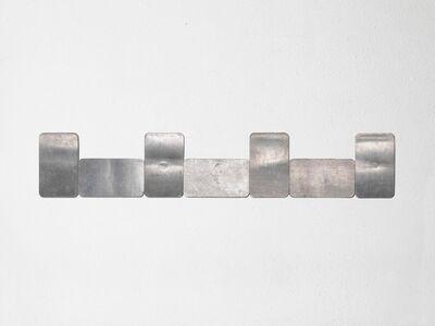 Carl Andre, '4V 3H ALUMINUM', 2016
