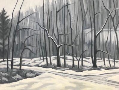 Katie Weiss, 'Snowy Woods', 2019