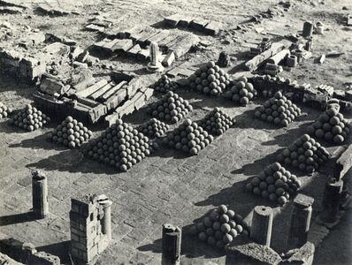Alfred Eisenstaedt, 'Ruins of Pergomen, Turkey', 1934
