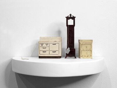 Liliana Porter, 'For Sale (Furniture and Tall Clock)', 2018